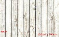 board printing - Thin Vinyl Backdrops Studio Backdrop Wooden Floor Wood Board Theme photography Backdrops Photo Studio Background x100CM WF79