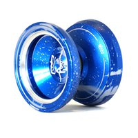 acid wash metal - Magic Yoyo MAGICYOYO Yostyle M002 April Acid Wash Color Anodized Surface and Stainless Center Bearing Blue
