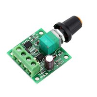 Wholesale PCB Low Voltage DC PWM Motor Speed Controller Module With LED indicator and Rotary Switch Motor Accessories1 V V V V V A