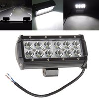 Wholesale 7 quot W X3W Waterproof CREE LED Offroad Work Light Driving Lamp Combo Beam v v Truck SUV Boat Lights