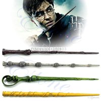 Wholesale Collection Wizard Harry Potter Magic Wand Without LED Deathly Hallows Hogwarts Gift