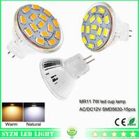 12 volt led light - mr11 led bulb smd5630 glass cup light AC DC volt W warm natural white spotlight bright light lamp for indoor lighting