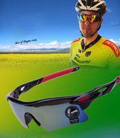 Wholesale Eyewear Bicycle Eyeglasses Sunglasses Cycling Goggles Polarization Glasses Mountain Bike Cycling Glasses Lens Sports Free DHL Factory Direct