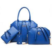 Wholesale Hot Selling Fashion Women bags Handbags Shoulder Bags Purse Famous Messenger Bag PU Leather Totes Bag Purse Pieces set
