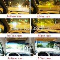 Wholesale FG1511 Hot Sales HD Car Anti Glare Dazzling Goggle Day Night Vision Driving Mirror Sun Visors