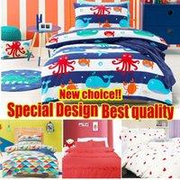 Wholesale Buy Get Cushion Cover Bedding Set Kids Children Cotton Pillow Cover Case Duvet Cover Bedding Set Single Hometextile