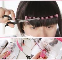 Wholesale New Magical Hair Tools Cut Kit Bangs Hair Clip Trimmer Clipper Hand Cut Bangs
