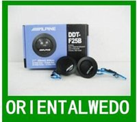 alpine subwoofers - Car Speaker ALPINE DDT F25B High Efficiency speakers for car Dome Tweeters Car hight quality