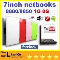 "Cheap Cheap 7"" VIA8880 Android 4.2 Dual Core Wifi Netbook Notebook mini Laptop 512MB 4G 1G 8GB with Webcam HDMI computer"