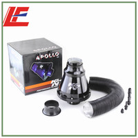 Wholesale High quality kn apollo air filter air Intake kits apollo super power flow intake AIR Filter Black color Fast shipping