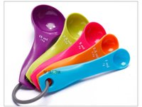 Wholesale New Arrival Kitchen Craft Five Piece Measuring Spoon Set Home Cook Chef Bake In Stock