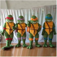 Wholesale Send China post High quality Teenage Mutant Ninja Turtle Mascot Costume Adult Character Costume