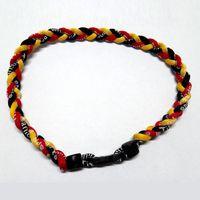 bezel style necklace - Three Braided Rope Bracelet High Quality Unisex FashionTribal Style Bracelet Jewelry Titanium Braided Necklace Sell Like Hot Cakes
