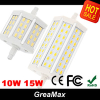 Wholesale Hot R7S LED Corn Bulb W W SMD R7S LED Lamp Light mm mm AC V LED R7S Bulbs Lamps NO Dimmable Replace Halogen Floodlight