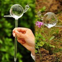 Wholesale New Zakka Creative Glass snails birds Sprinklers Flower Pots Sprinklers Slow seepage Garden irrigation Gifts
