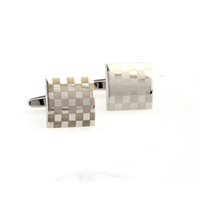 Wholesale Mix Order Pairs Men s Cufflinks Highly Polished Stainless Steel Shirt Accessories Cuff Links for Party Dresses