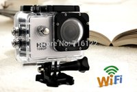 Wholesale SJCAM SJ4000 WiFi Extreme Sport Action Camera P Full HD Waterproof Camcorders GoPro Hero Go Pro Hero3 Style SJ Camera