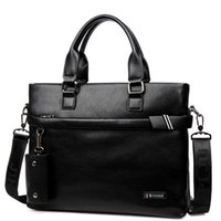 Wholesale Men Briefcase Business Shoulder Genuine Leather Bag Computer Laptop Handbag Bag Men s brand POLO Men Shoulder Bag Messenger Bag