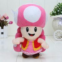 super mario babies mario - 7 inch Super Mario Toadette Plush doll Figure Toy Baby Doll