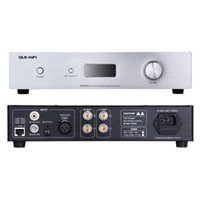 Wholesale QLS HiFi QA100 Class T Digital Amplifier W amplifier DAC Cox Opt Input