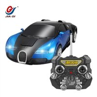 Wholesale Jia Qi TT663 Robort Minions electric Transformation Remote Control RC Car