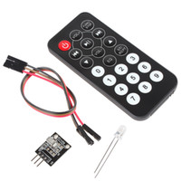 arduino infrared remote - Infrared IR Wireless Remote Control Module Kit for Arduino DBP_702