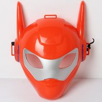 Wholesale 2015 New Arrival Big Hero Baymax Mask toy Action figure PVC Cosplay Christmas Gift for Kids B001