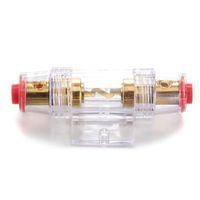 audio electronics parts - SZS Hot Gauge Fuse Holder Fuse Holder A Car Audio Part Electronics