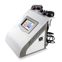 Wholesale Brand new CE Portable in K skin care ultrasonic cavitation RF vacuum slimming machine weight loss machine
