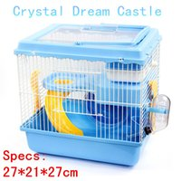 Wholesale 2015 New Free transportation hamster cage Super Hamster Cages Habitat Cage For Hamster Hamster The cage