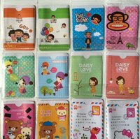 Wholesale PVC Credit Card Bag D Cartoon Animals Girls Plastic Card Holders Business Card Bus Card Bags Promotion Gift Present cm cm