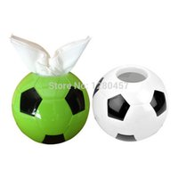 acrylic trophies - Souvenir Gifts Tissue Box Trophy Football Shape Tissue Paper Box Acrylic Tissue Box Embroidery