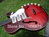 Cheap Free Shipping hot High Quality new style Harmony Rocket H-59 Model Vintage Guitar100% Excellent Quality