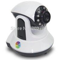 Wholesale PTZ Wireless IP Camera P Pan Tilt Dual Audio speaking P2P Plug Play WIFI IP Camera Night Vision Built in IR Cut TF Card Slot