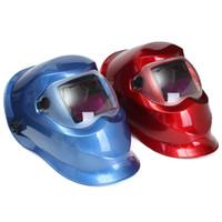 Wholesale Solar Auto Darkening Mask Helmet Electric welding helmet TIG MIG Welder MAC_10I