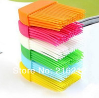 Wholesale Fashion Hot Silicone Basting Cooking Pastry Brush Kitchen heat resistance silicone BBQ brush