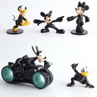 Roles big pluto - Mickey Mouse Pluto Minnie Mouse Action Figures Goofy Donald Duck Doll PVC ACGN figure Garage Kit Toys Brinquedos Anime CM
