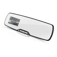 Wholesale car dvd Hot Inch P HD Car DVR Rearview Mirror Video Recorder Camera Handsfree Bluetooth Support