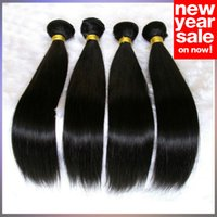 unprocessed virgin hair - Virgin Brazilian Hair Malaysian Peruvian Mongolian Cambodian Indian Unprocessed Straight Human Hair Bundles Dyeable Best Hair Weave