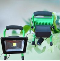 Wholesale x4 W W LED Flood Light Rechangeable portable floodlight Car changer emergency floodlight Alarm flash function Adjustable brightness IP65