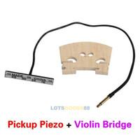 baroque cello - LS4G Violin Accessories Double Piezo Upright Cello Pickup Bass Cello Baroque Style Violin Bridge