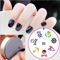 Wholesale New Arrive Nail Art Stamping Template Polish Image Stamper for DIY Manicure Tools silicone nail art templates with many design