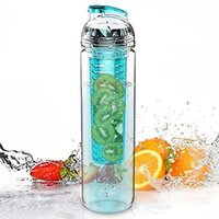 Wholesale Hot Selling Free ml Fruit Infuser Water Bottles Infusion BPA Detox Drink Juice Bottle PZ001B