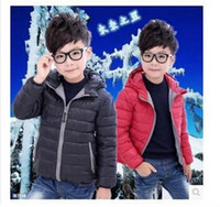 Wholesale The new fashion boys and girls coats over the warm jacket of the down jacket North America
