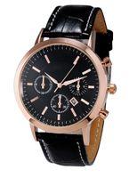 Wholesale Hot men watch top brand luxury calendar of high quality leather men fashion design quartz watch relogio masculino