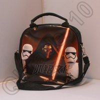 Wholesale 85PCS HHA498 star wars The Force Awakens Insulation Lunch Bag cartoon stormtrooper BB Lunch Bag household star wars Hangbags