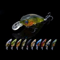 Wholesale 5pcs Fishing Hard Lure Crankbaits Bear King Mini Cranks Wobblers mm3 g DW24 Hard Fishing Lures