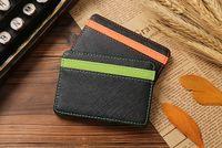 cheap wholesale purses - CCA2519 New Novelty Korean Fashion Men Magic Wallets PU Cheap Wallets Magic Bags Male Pocket Purse Cards Holder Money Clip For Men
