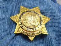 aluminum buckets - 2016 Time limited Russian Military Uniform American Metal Badges California Highway Patrol Chp Traffic Officer Metal Badge