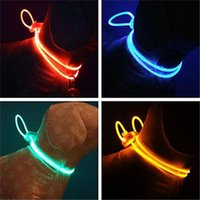 Wholesale New Pet Dog Cat Adjustable Stylish Remote Night Safety LED Flash Collar for Dogs cm inch Retail